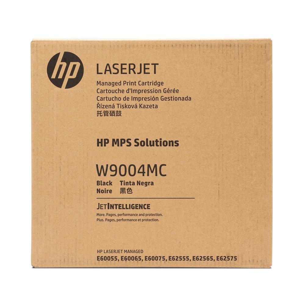HP W9004MC Black Managed Original LaserJet Toner Cartridge W9004MC
