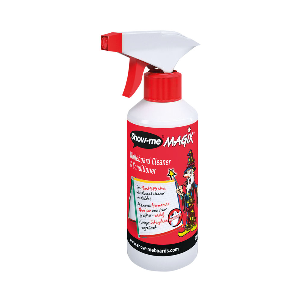 Show-me 250ml Magix Whiteboard Cleaner and Conditioner - WCC