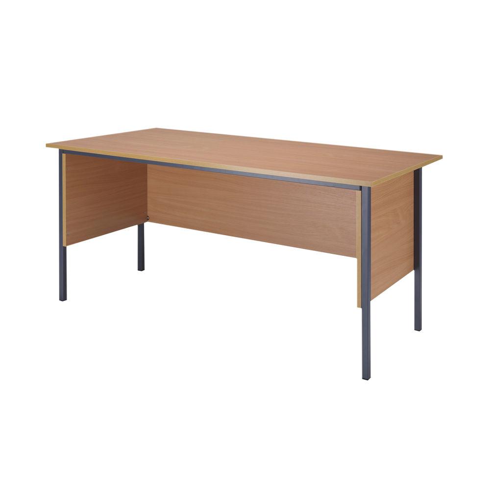Serrion 1500mm Bavarian Beech Four Leg Desk