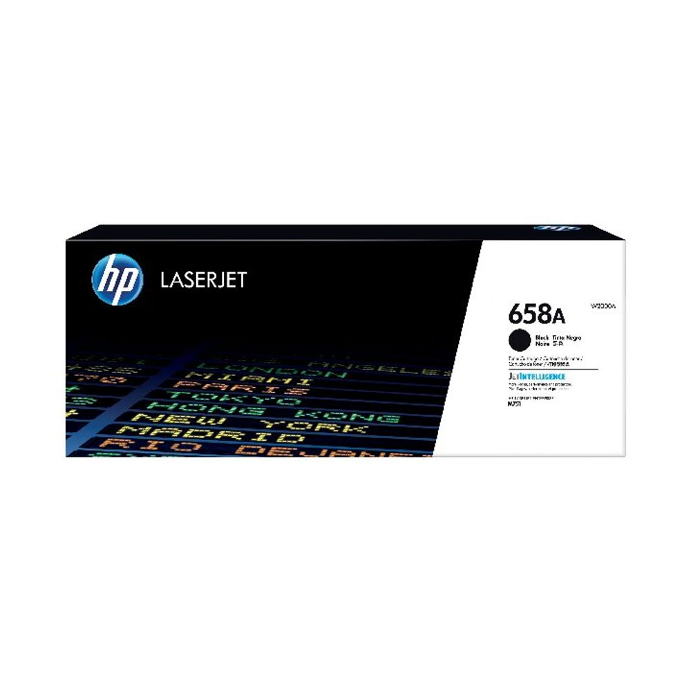 HP 658X LaserJet Toner Cartridge Black W2000X