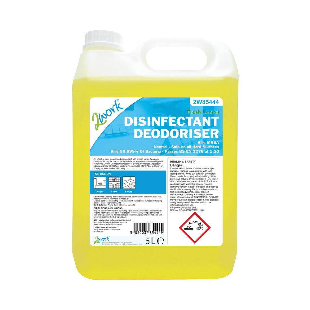 2Work Disinfectant Deodoriser 5 Litre - 2W85444
