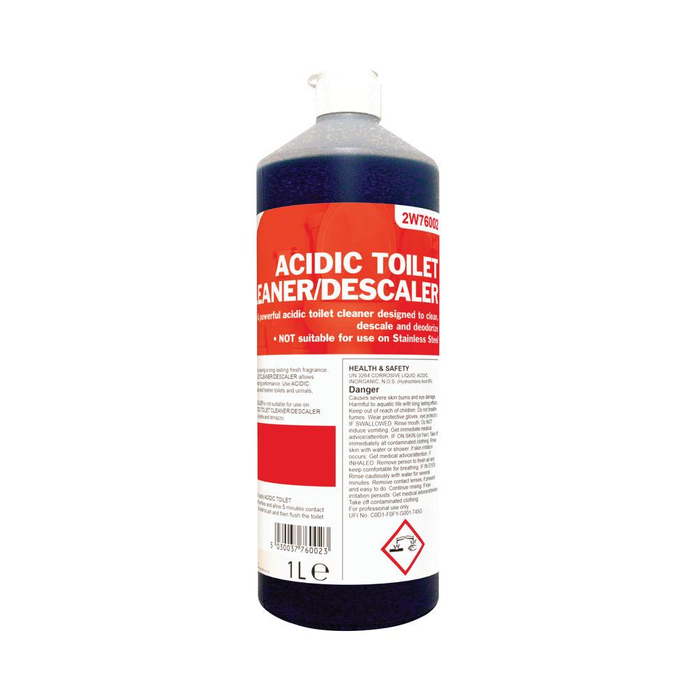 2Work Acidic Toilet Cleaner 1 Litre - 501