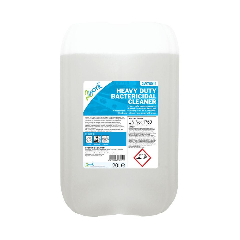 2Work Heavy Duty Bactericidal Cleaner 20 Litre - 319