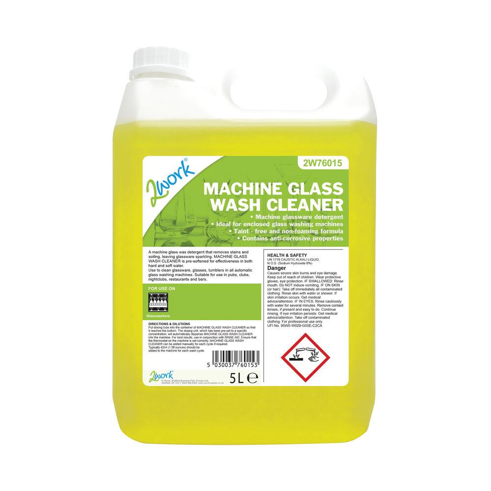 2Work Glasswash Machine Cleaner 5 Litre - 328