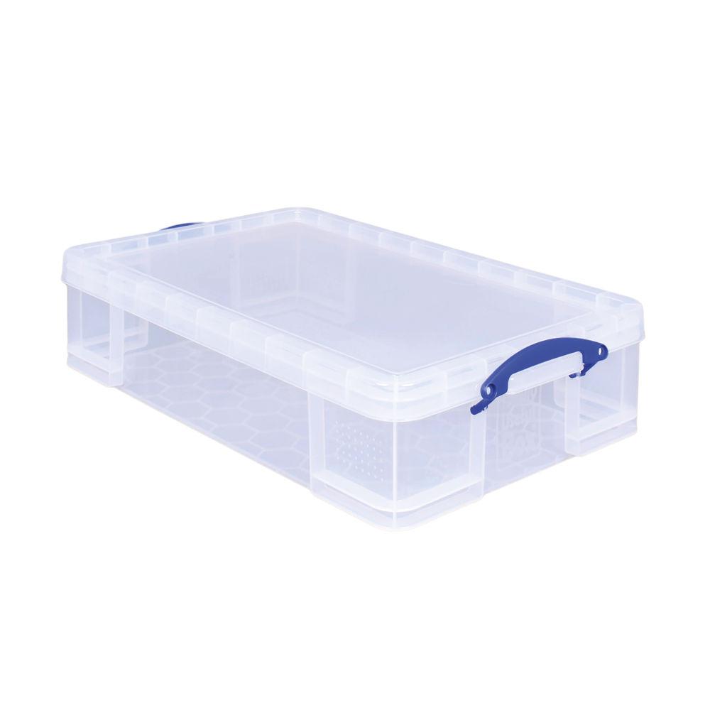 Really Useful 33L Plastic Storage Box 710 x 440 x 165mm Clear 33CCB