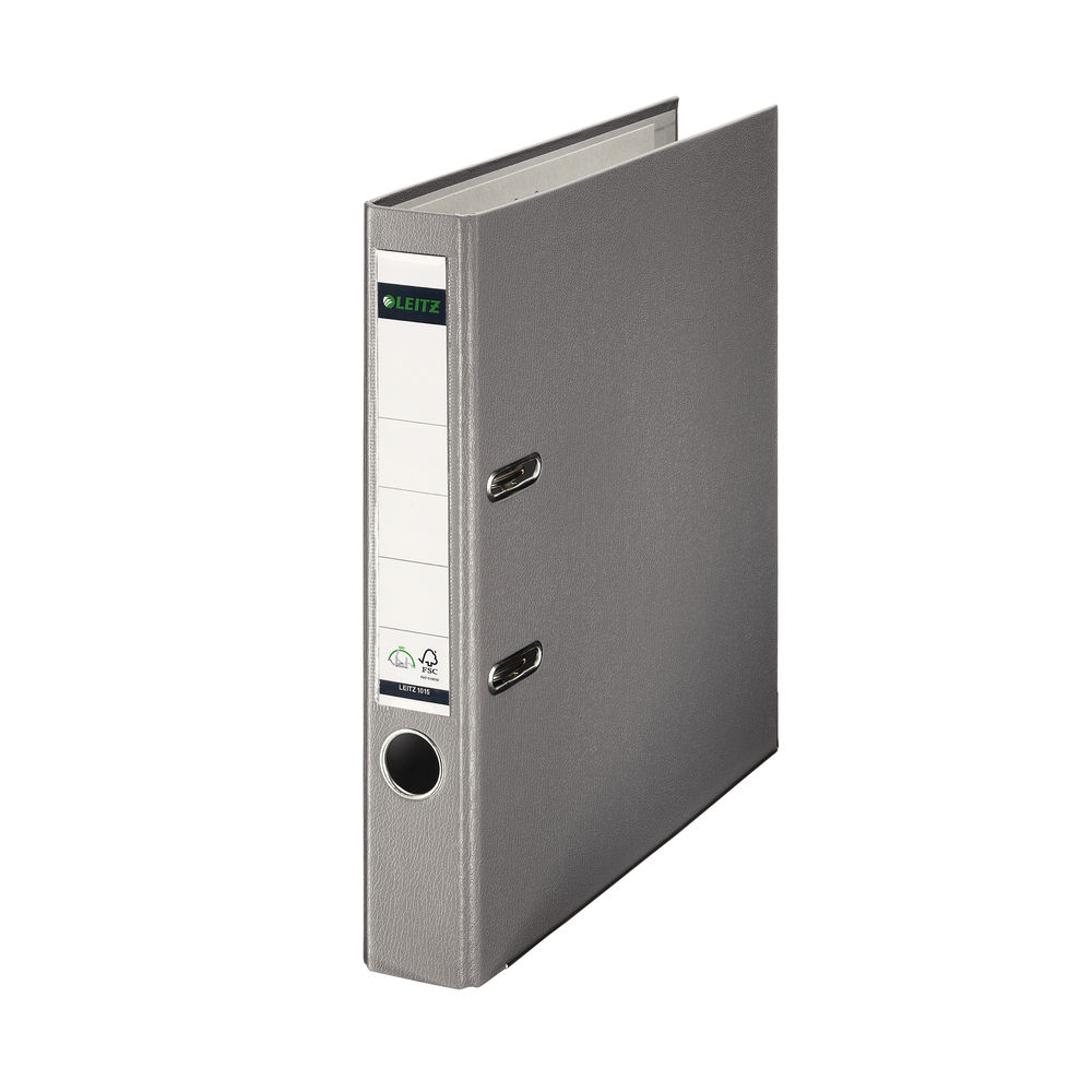 Leitz Lever Arch File A4 52mm Grey 10151085