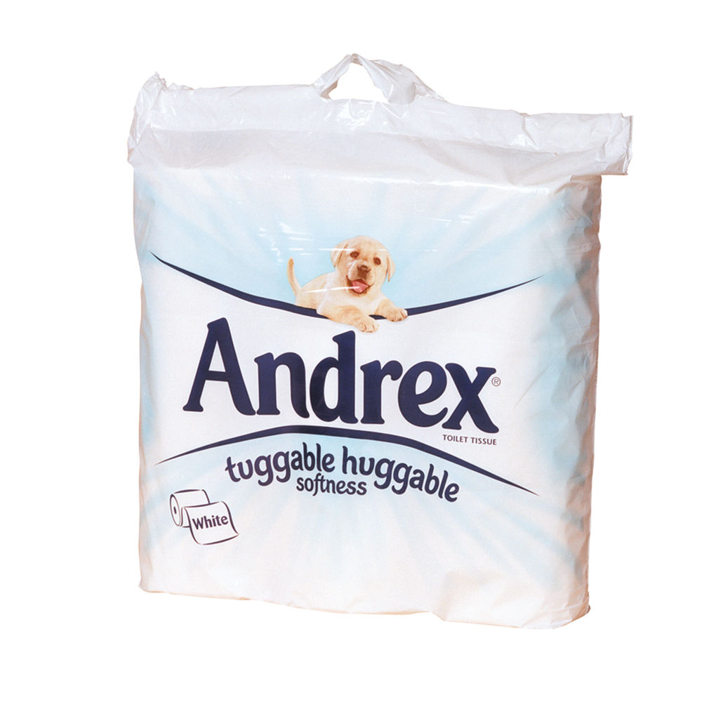 Andrex Toilet Roll 2-Ply 279 Sheets White (Pack of 9) 1102053