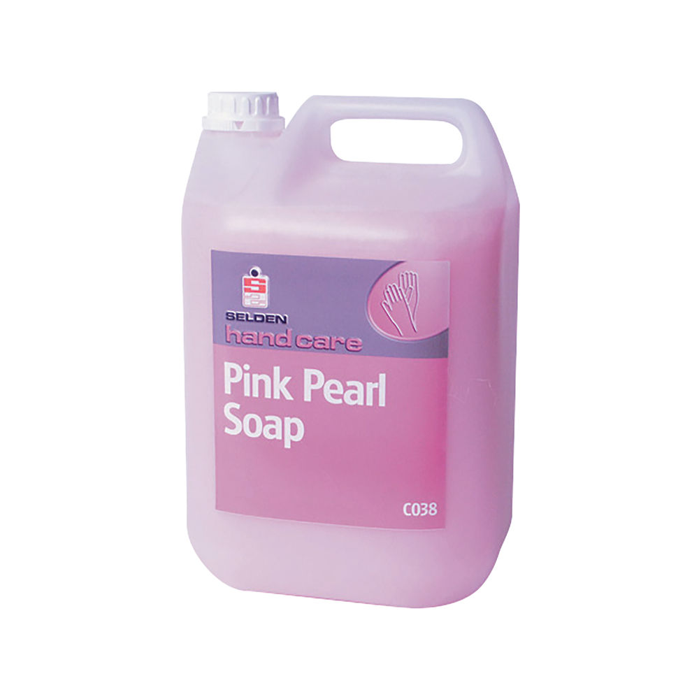 Selden Luxury Hand Soap Pink Pearl 5 Litres 10-012