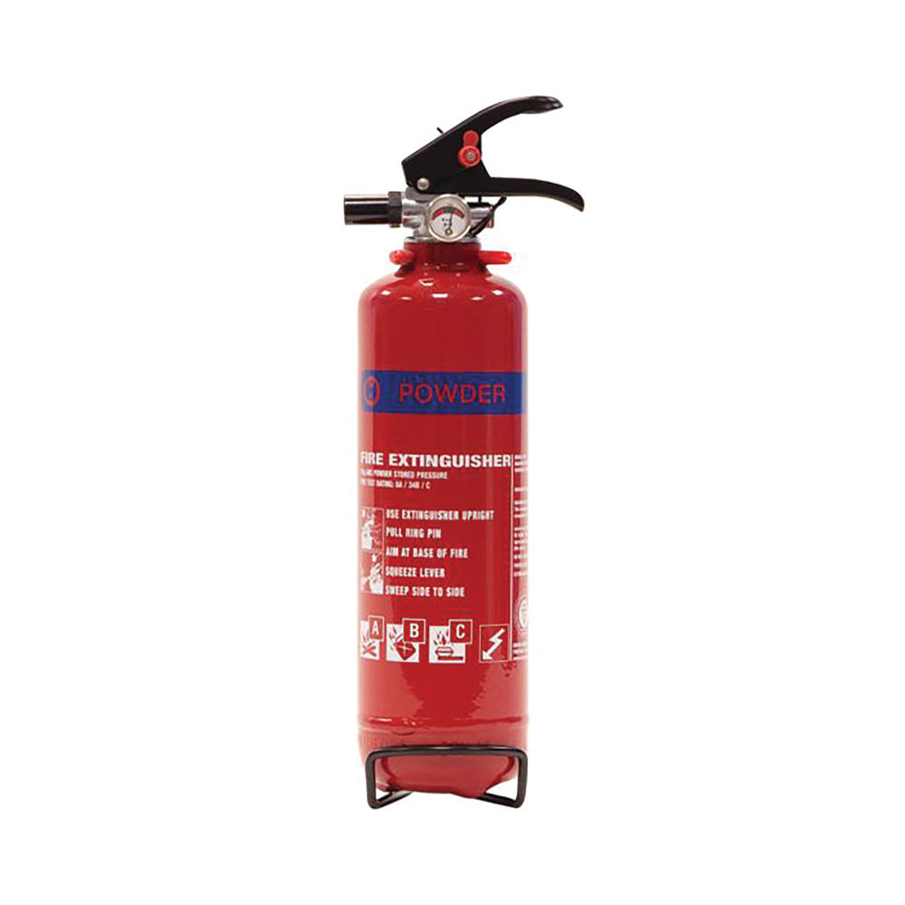 Fire Extinguisher Dry Powder 1kg For Class A B and C Fires 02110001