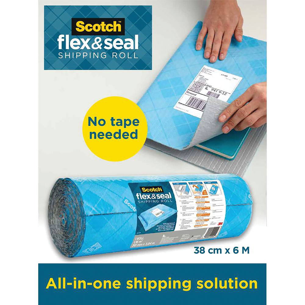 Flex And Seal Shipping Roll 38cmx6m FS-1520-6-EU