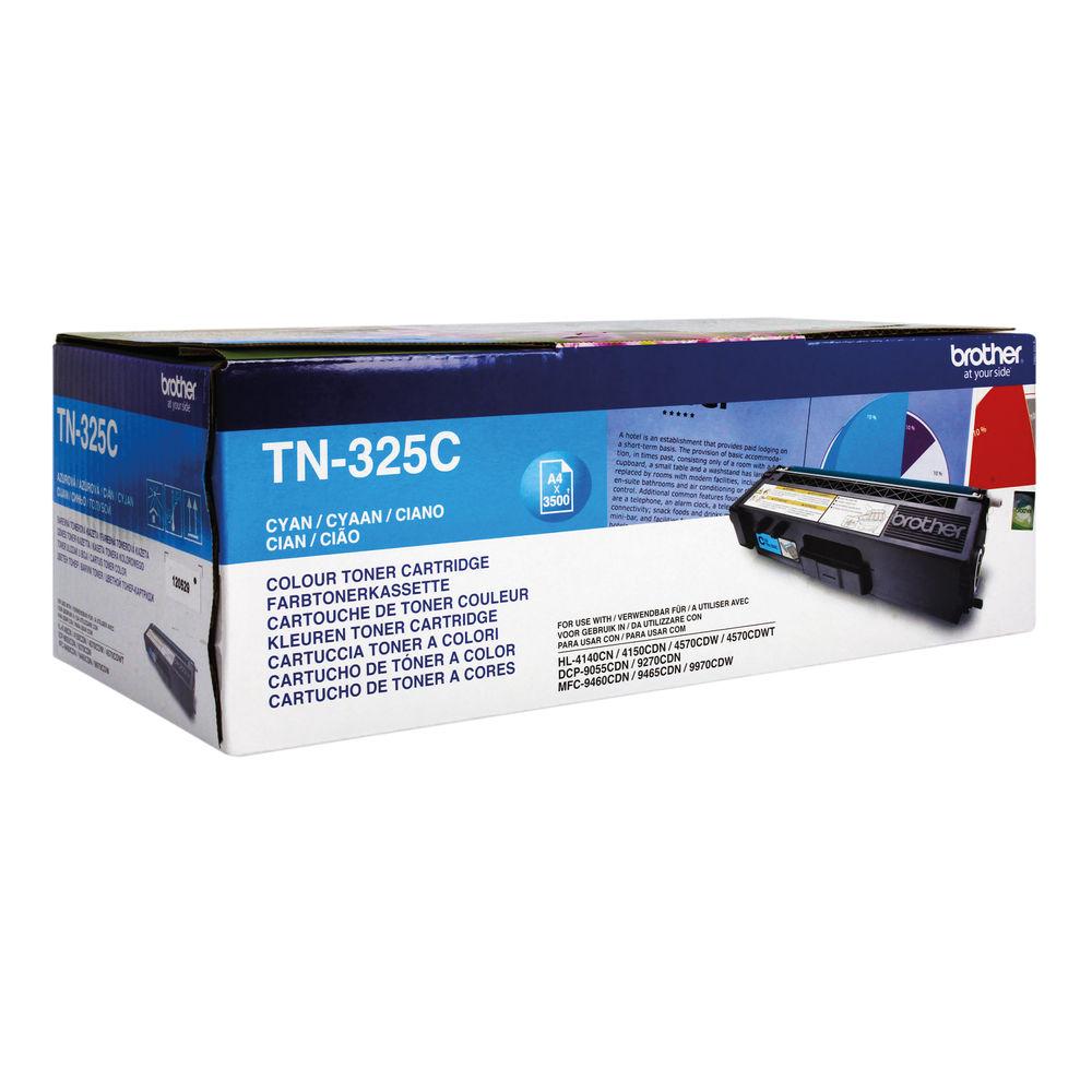 Brother TN325C High Capacity Cyan Toner Cartridge - TN325C