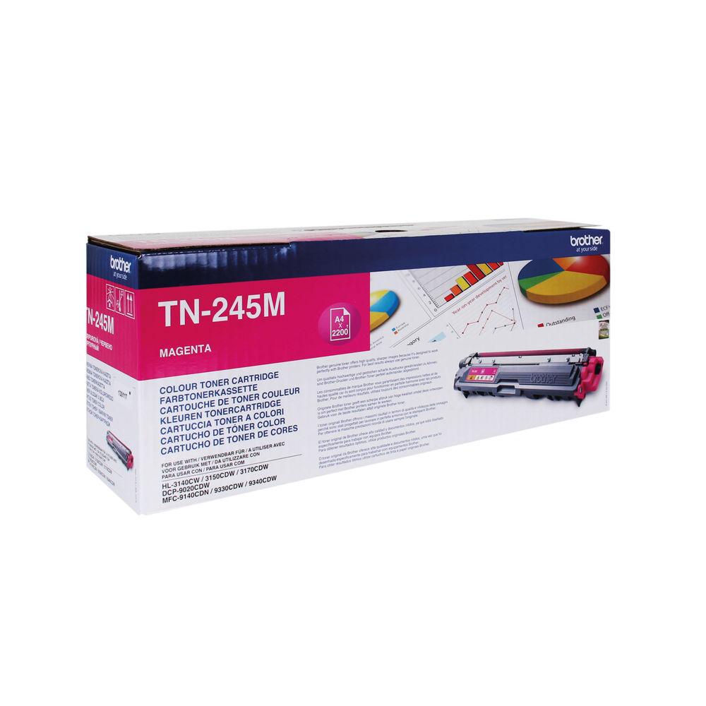 Brother TN245M High Capacity Magenta Toner Cartridge - TN245M