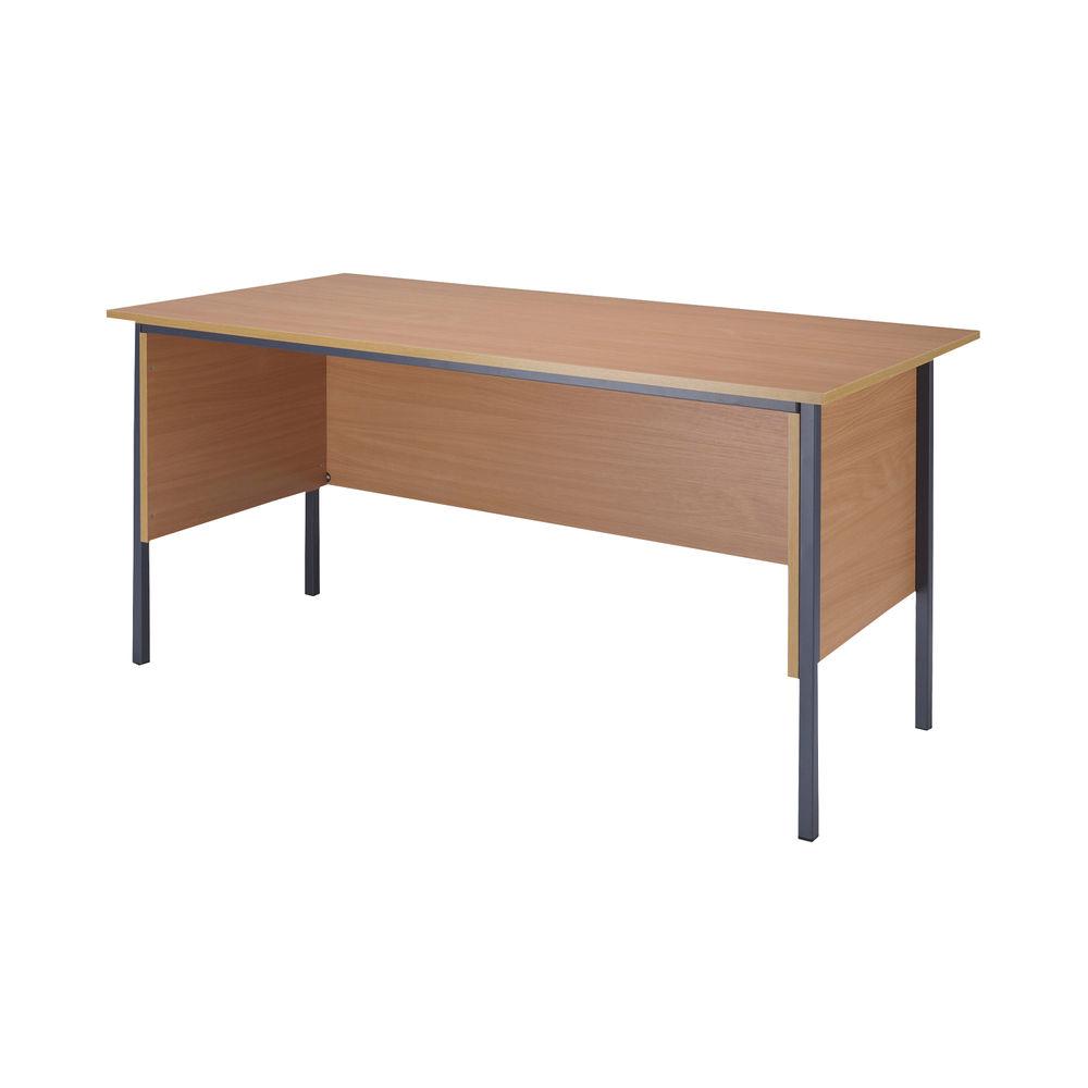 Serrion 1800mm Bavarian Beech 4 Leg Desk - KF838754
