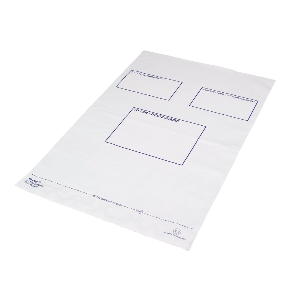 Polylope White Extra Strong Envelopes (Pack of 100) – BSB-203