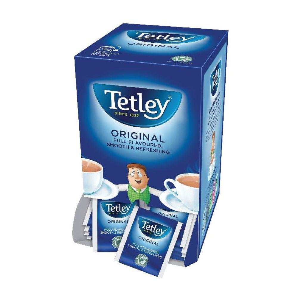 Tetley Original Tag and Envelope Tea Bags - Pack of 250 - NWT004