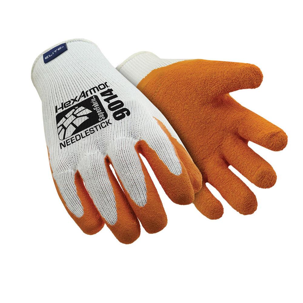 Hexarmor Needlestick Gloves Large Size 9 HEX9014/9