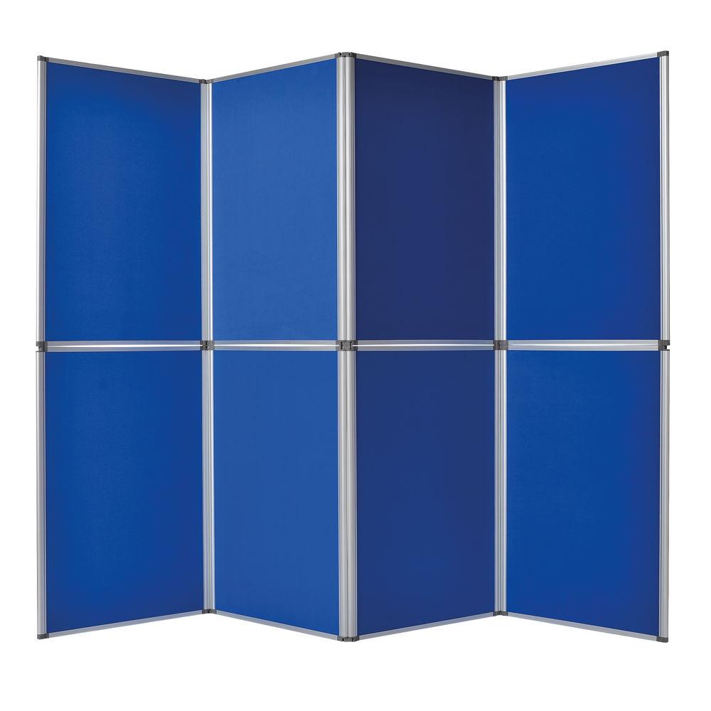 Bi-Office Display System 6 Panel Blue (Dimensions: 1020 x 750 x 50mm) DSP340116