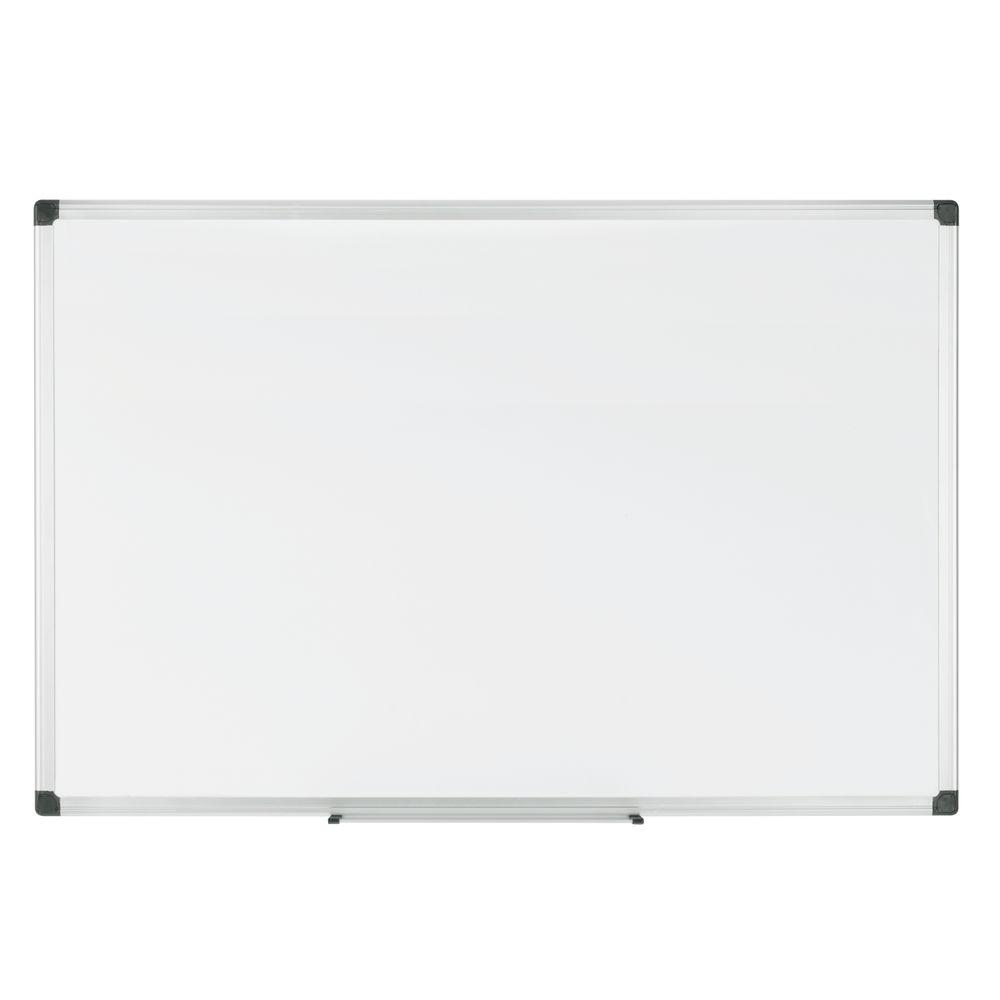 Bi-Office Drywipe Magnetic Steel Whiteboard, 900x600mm - MA0307170