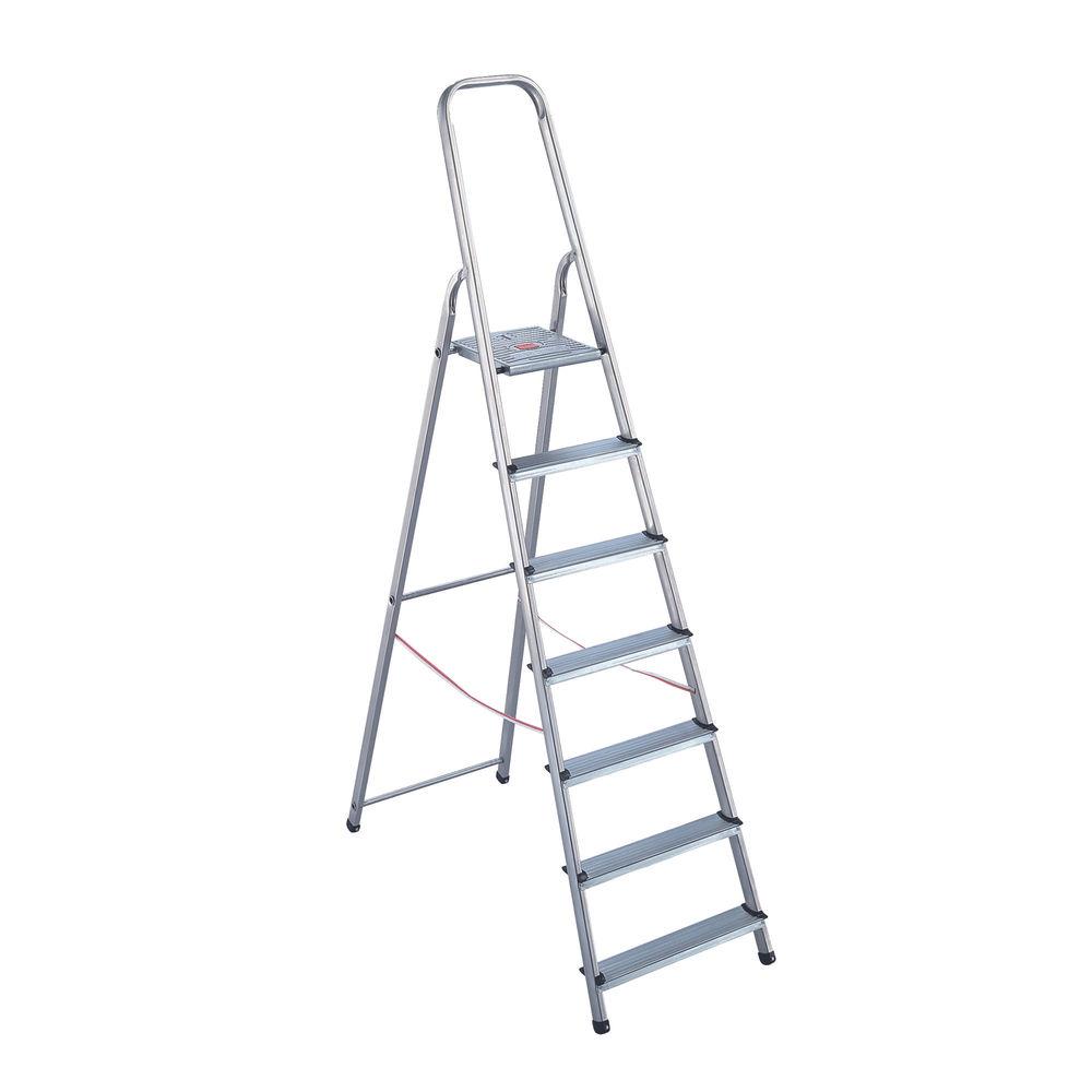 8 Step Aluminium Step Ladder - 4050101