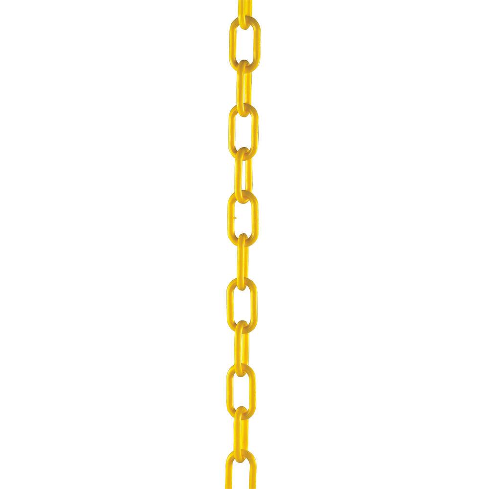 Plastic Chain 10mm Short Link 25 Metre Yellow 328275