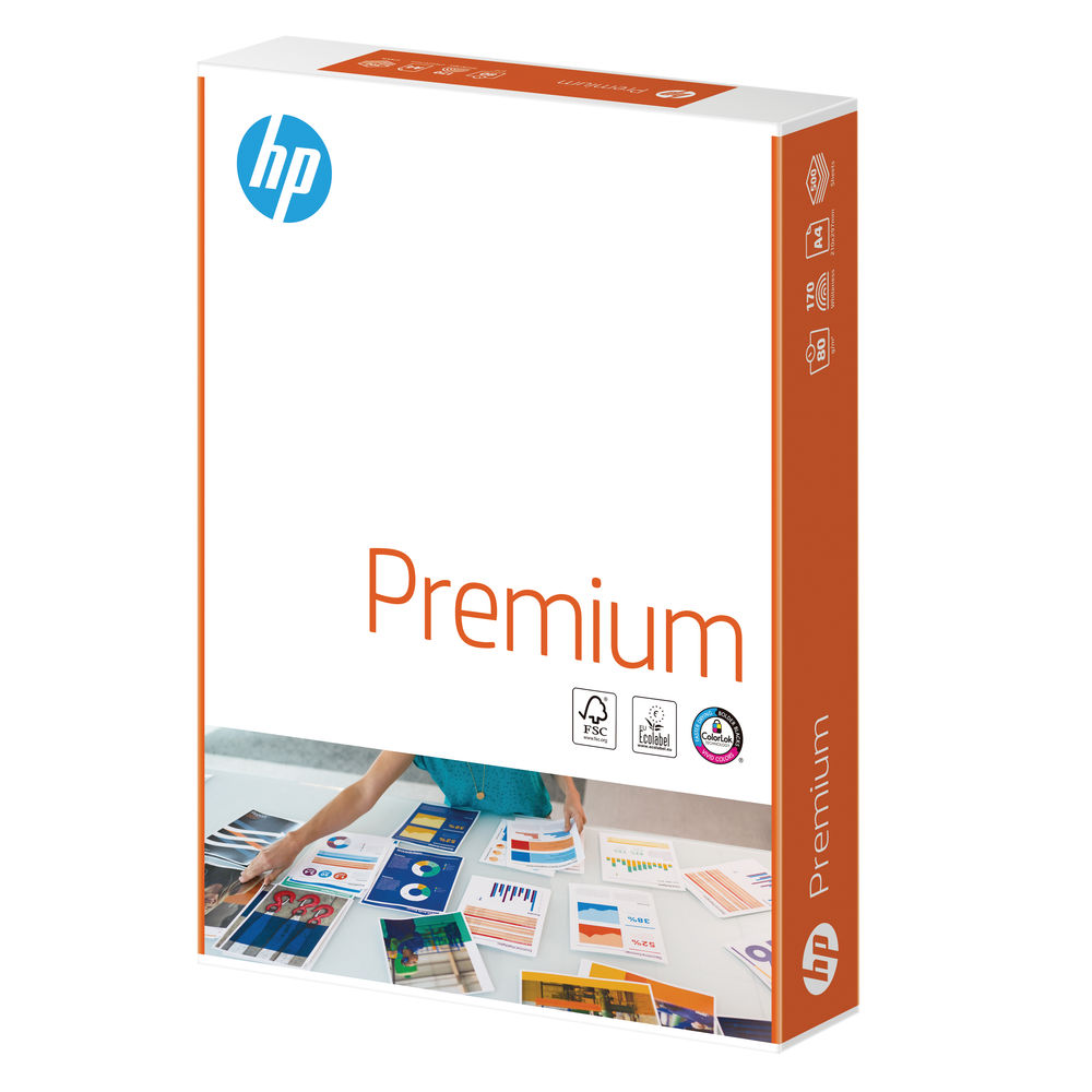 HP Premium A4 Paper 80gsm White (Pack of 2500) HPT0317