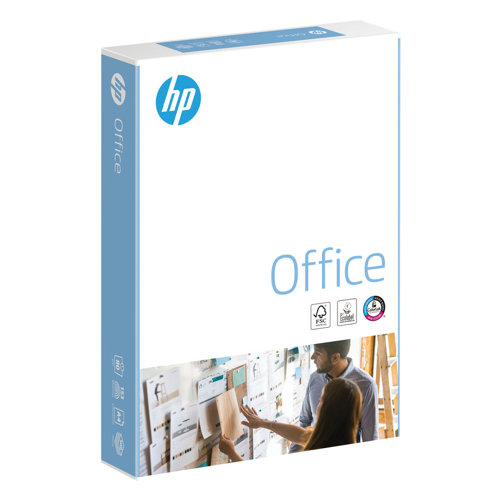 HP Office A4 White Paper, 80gsm, Pack of 2500 - HPF0317