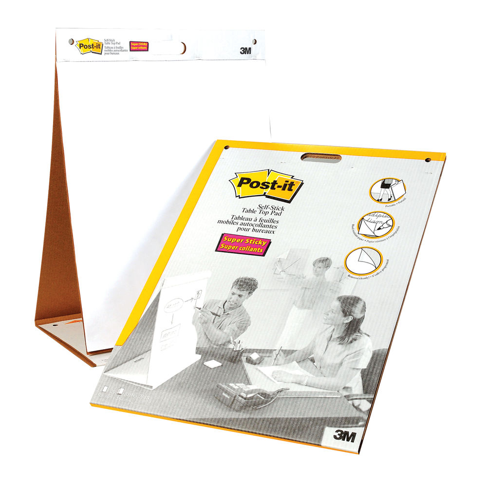 Super Sticky Post-it Table Top Chart - 3M96384