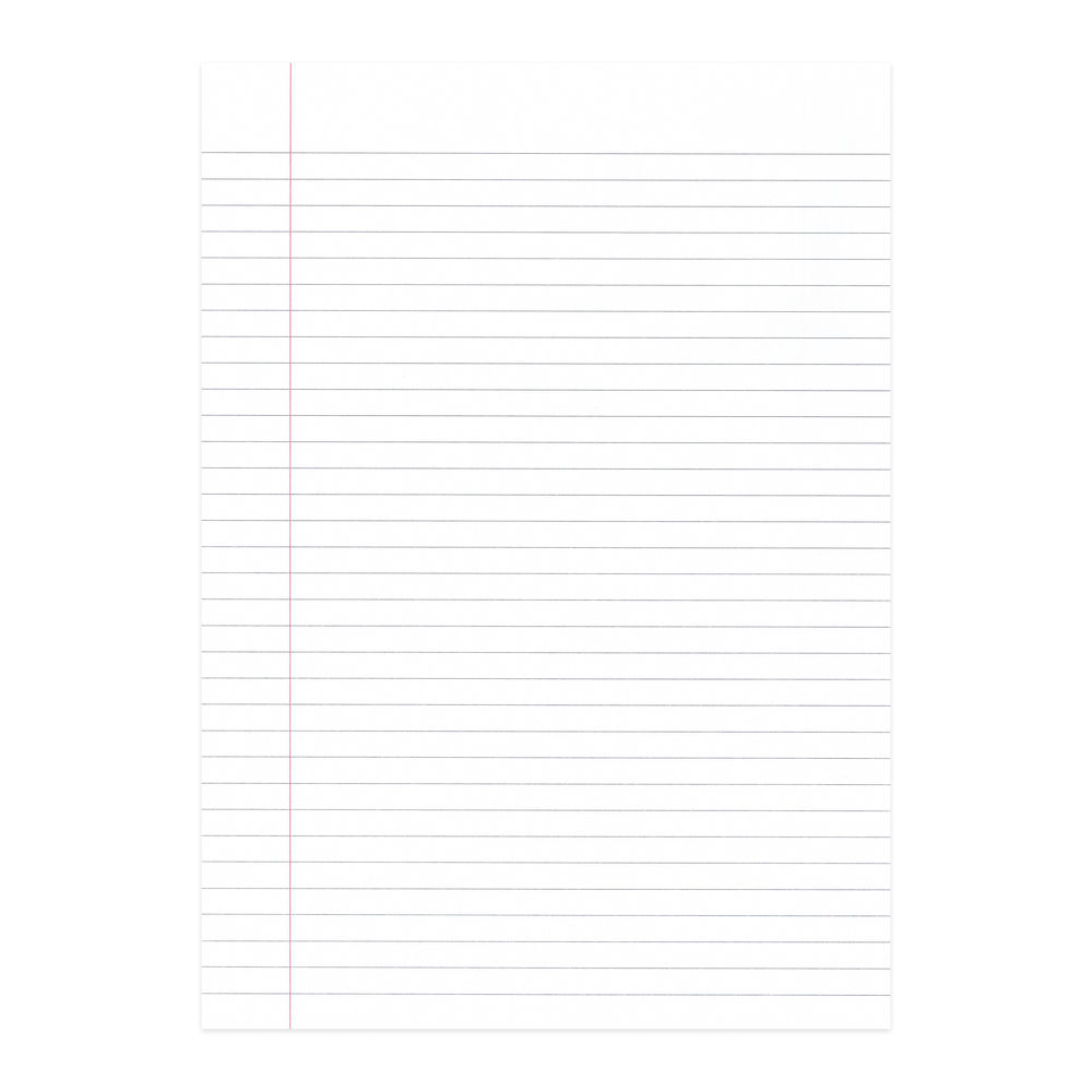 A4 Education Ruled Exercise Paper with Margin, Pack of 2500 - NU922015