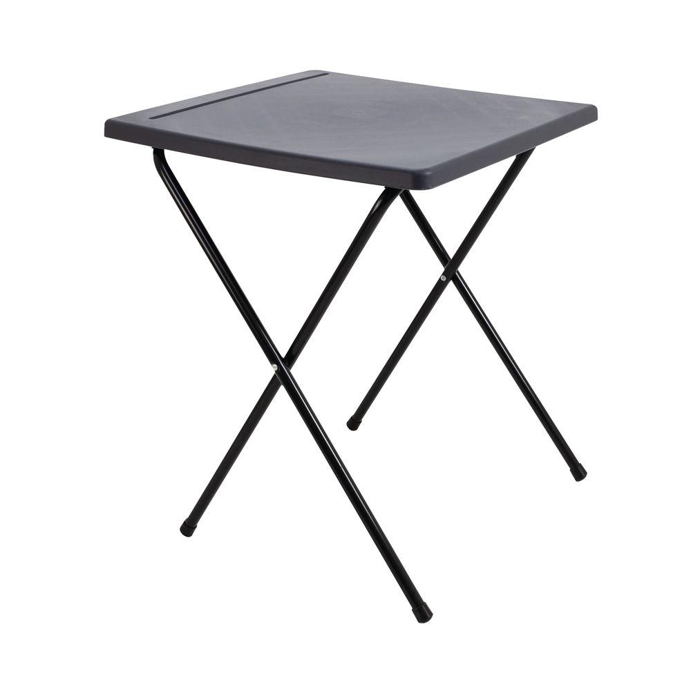 Titan Charcoal Folding Exam Desk
