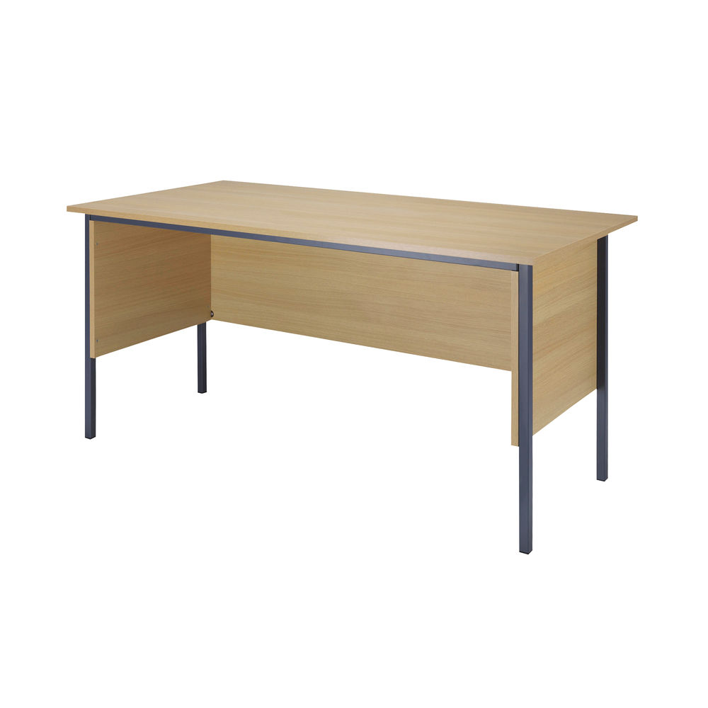 Serrion 1800mm Ferrera Oak 4 Leg Desk