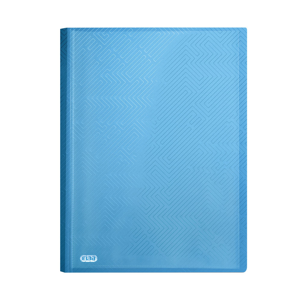 Elba Blue A4 Display Book, Pack of 10 - 44122003