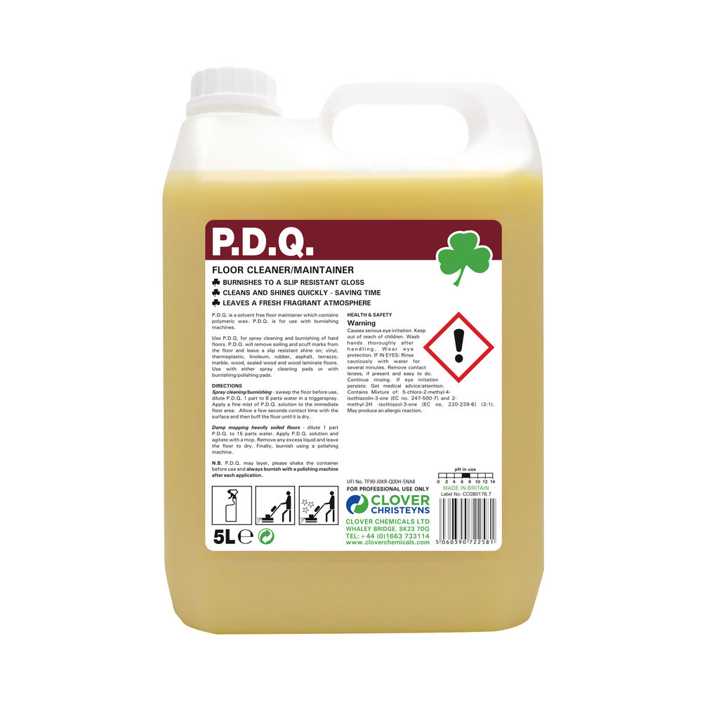 Clover Floor Cleaner Maintainer 5 Litre Pack of 2 CC22598
