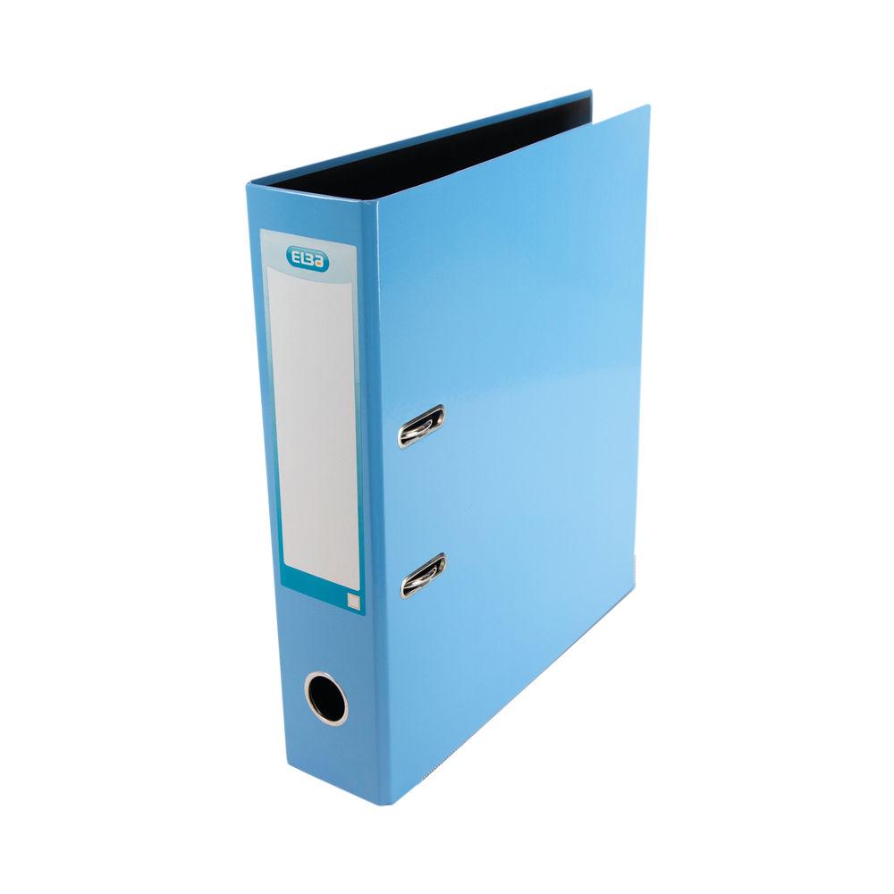 Elba Classy Metallic Blue A4 Lever Arch File 70mm - 400021023
