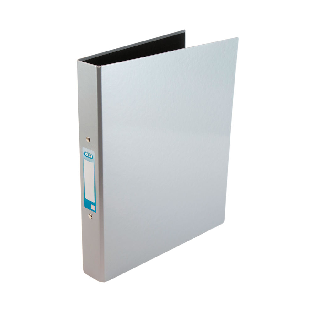 Elba Classy A4 Metallic Silver 2 O-Ring Binder 25mm - 400017759