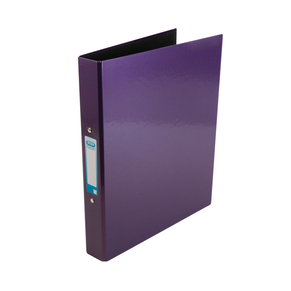 Elba Classy Metallic Purple A4 2 O-Ring Binder 25mm - 400017758