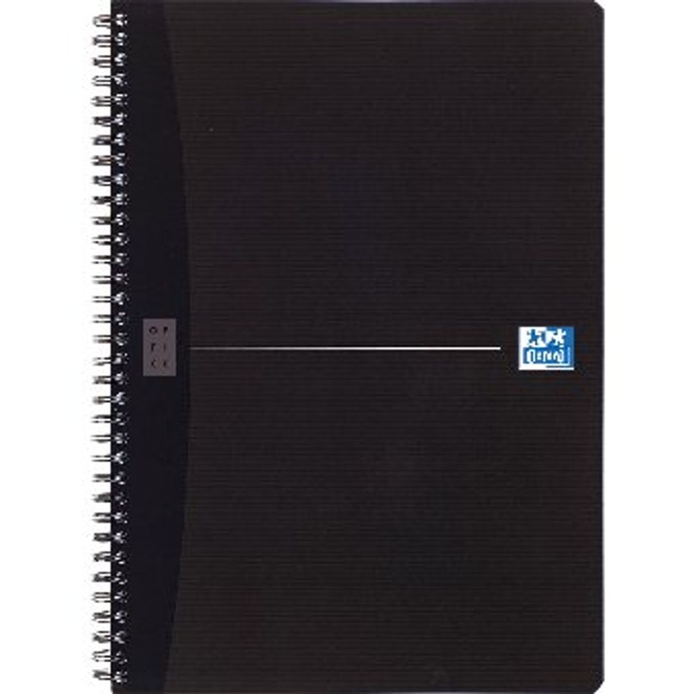 Oxford Office A4 Wirebound Notebook - Pack of 5 - 100102931