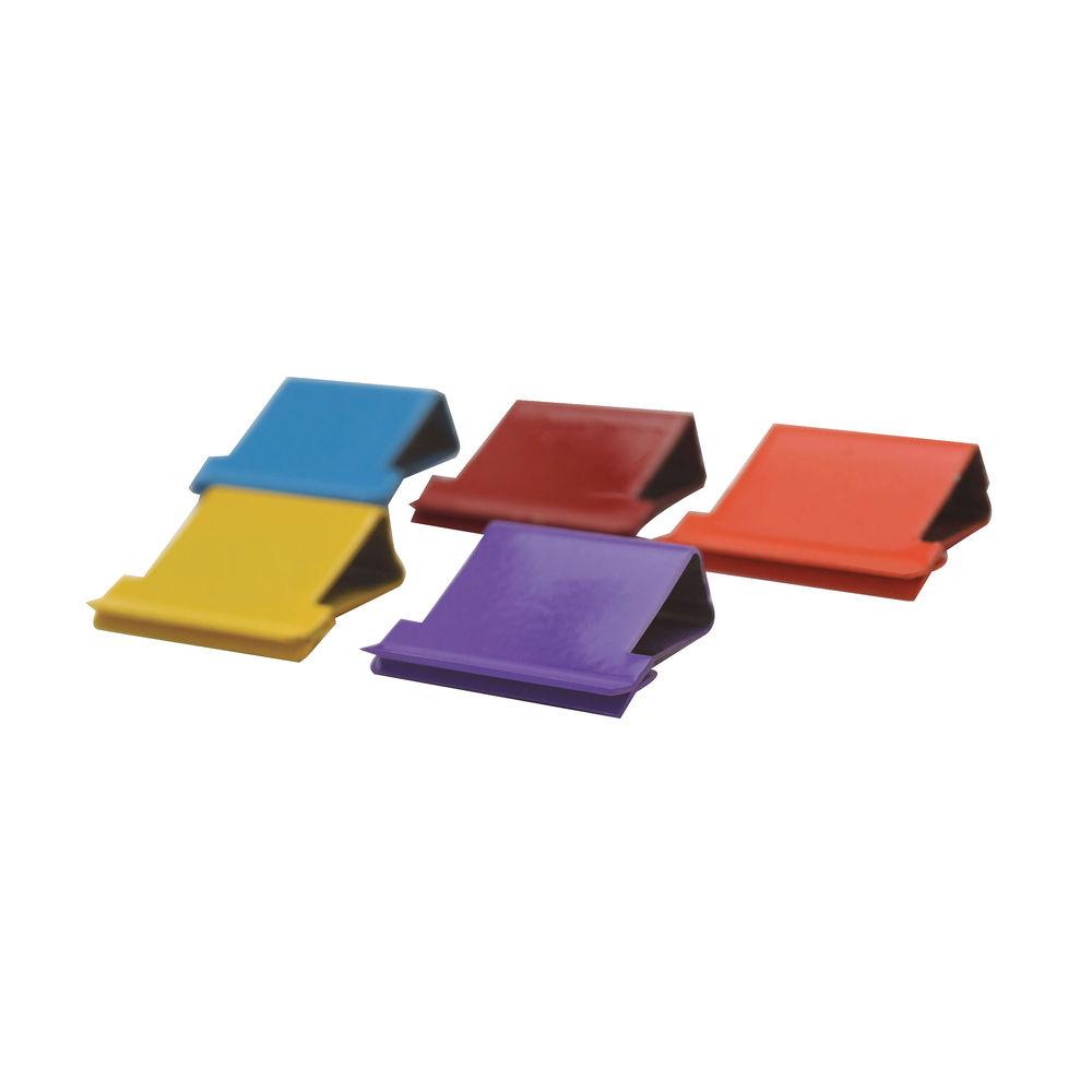 Rapesco Supaclip 40 Assorted Coloured Refills - CP15040M