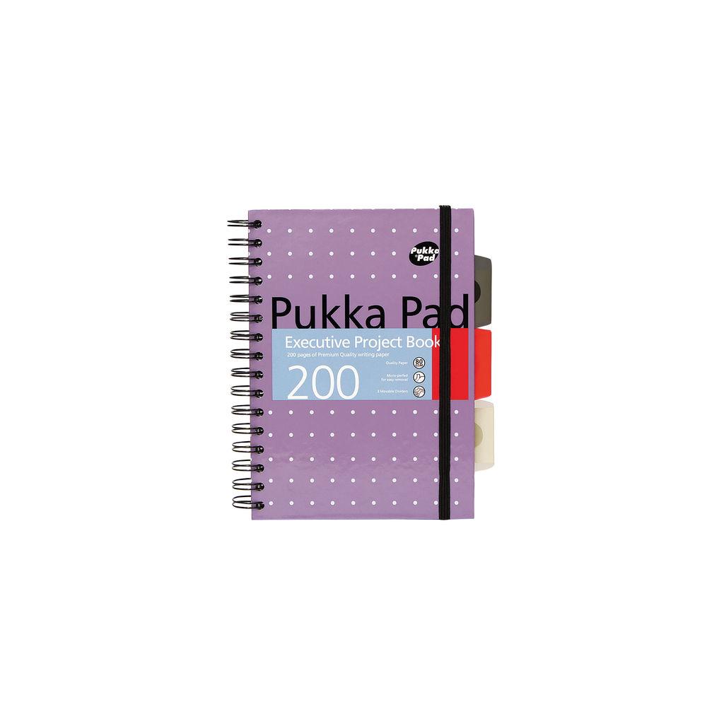 Pukka Pad Metallic Executive A5 Project Books - 6336-MET