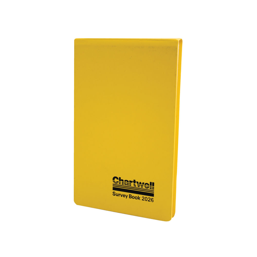 Chartwell Yellow Survey Field Book, 130 x 205mm, 160 Pages - 2026