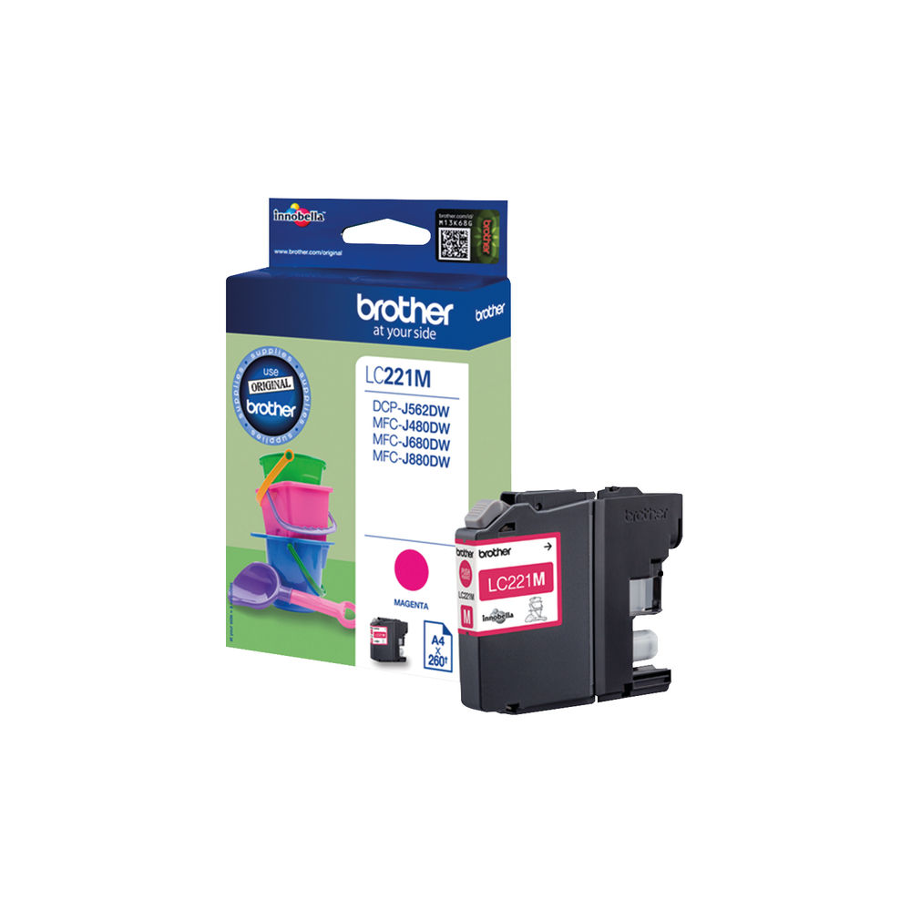 Brother LC-22E Magenta Ink Cartridge - LC22EM