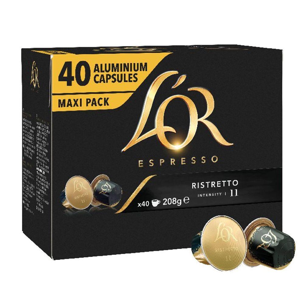 L'Or Nespresso Ristretto Capsule (Pack of 40) 4028790