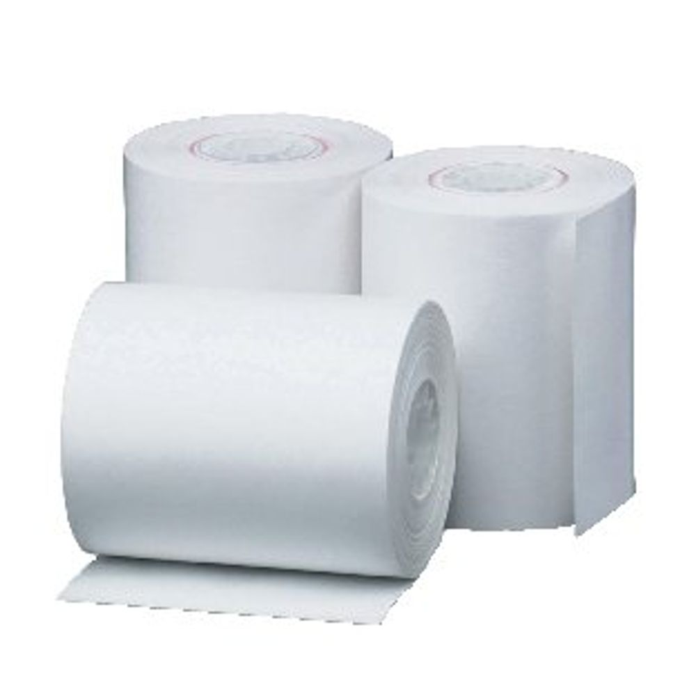 White 80 x 80mm Thermal Till Roll, Pack of 20 - THM243