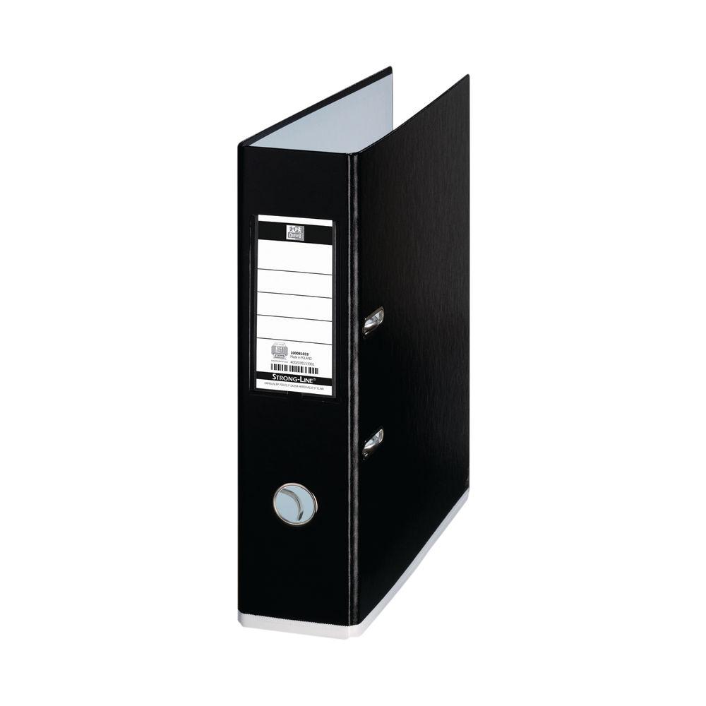 Elba MyColour A4 Black 80mm Lever Arch File - 100081033