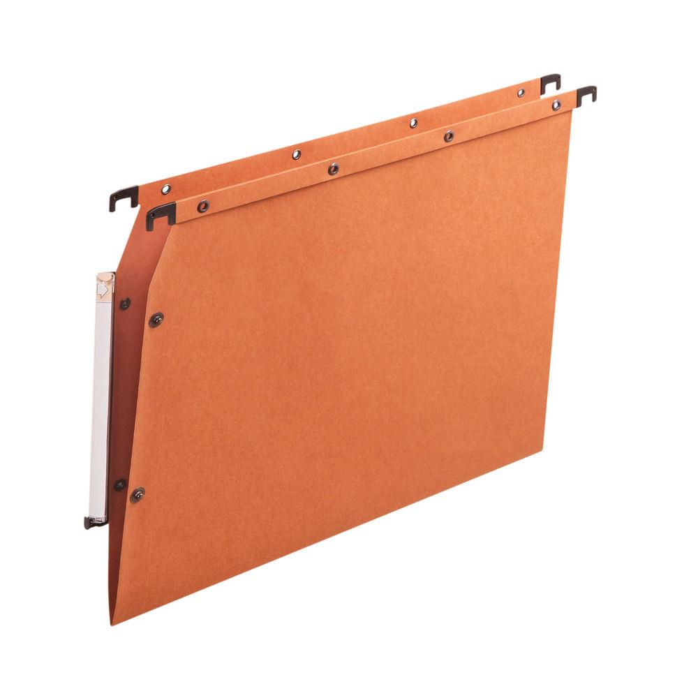 Elba Suspension File Azv Vbtm Manilla A4 Orange (Pack of 25) 100330473