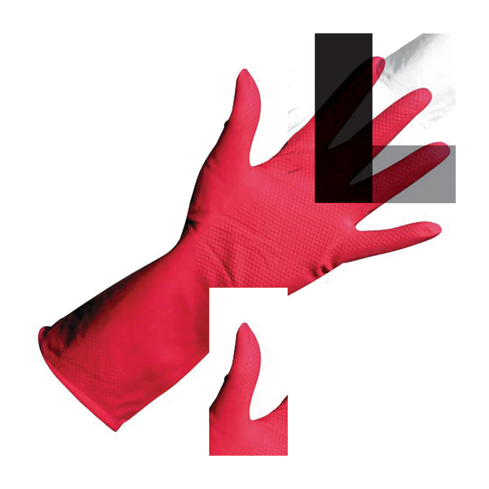 Rubber Gloves Pair Small Pink 803044