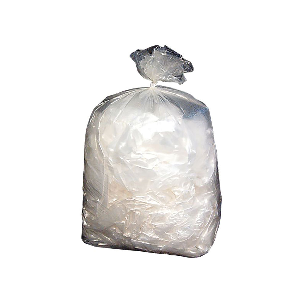 Refuse Sacks Extra Heavy Duty 15kg 508 x 864 x 1168mm Clear (Pack of 100) 703105