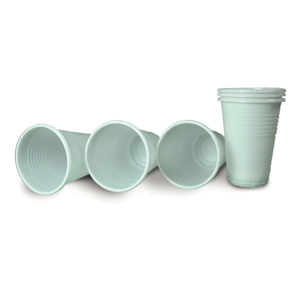 Biodegradable Cups 7oz PP White (Pack of 100) BIODEGRADABLEPP
