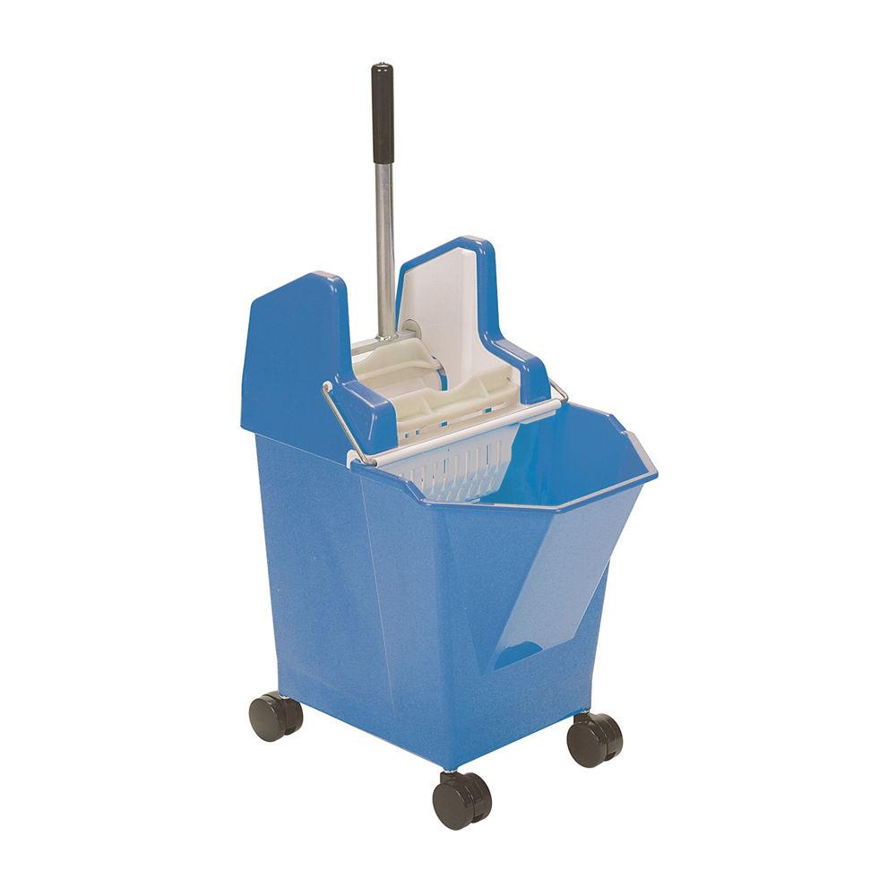 Ladymop Mobile Bucket and Wringer 9 Litre Blue 907001
