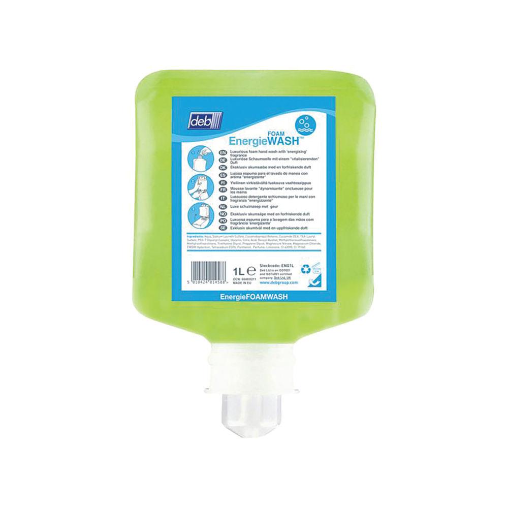 Deb Energie Foam Wash Refill Cartridge 1 Litre ENG1L