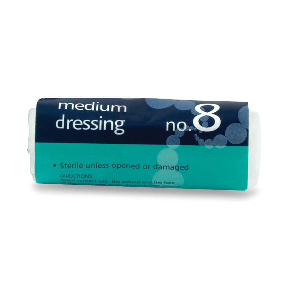 Reliance Medical Sterile First Aid No. 8 Dressing Medium 311